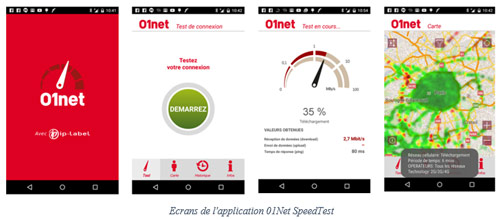 Application 01Net SpeedTest